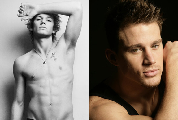 Alex Pettyfer to play Channing Tatum in stripper movie!