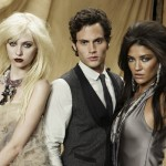 Taylor Momsen, Penn Badgley and Jessica Szohr