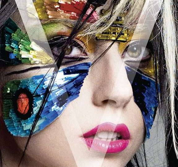 Lady Gaga does V magazine again!