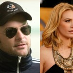 Matthew Vaughn and January Jones