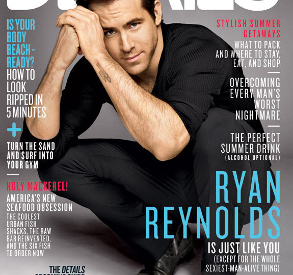 Ryan Reynolds: Lookin' hot for Details magazine!