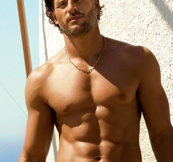 Hottie Joe Manganiello goes shirtless for GQ!