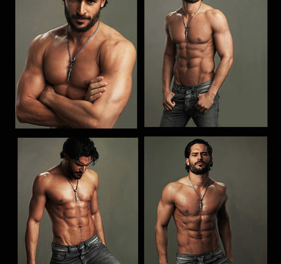 Work it out with hottie Joe Manganiello!