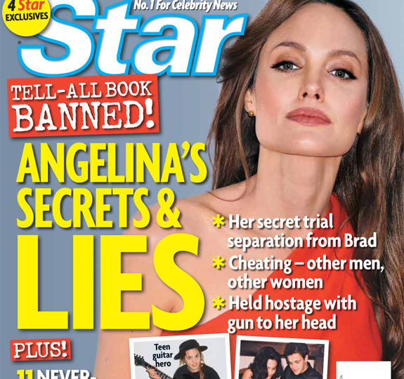 Recycled Rumors: Angelina Jolie's secrets and lies!