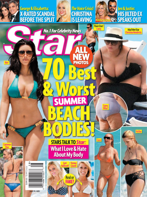 Star Magazine - Best & Worst Beach Bodies