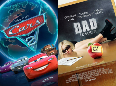 Cars 2 and Bad Teacher