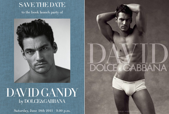 FashionBytes: Today is all about David Gandy!