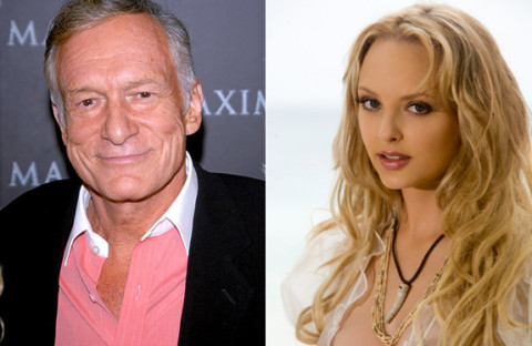 Hugh Hefner and Shera Bechard