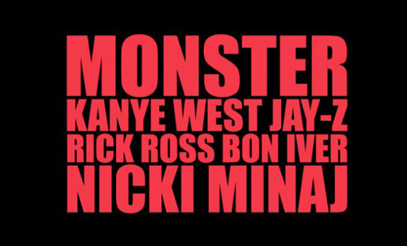 Kanye West's 'Monster' music video!