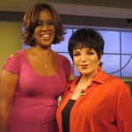 Gayle King and Liza Minnelli
