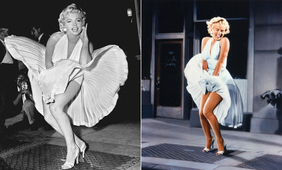 Marilyn Monroe's $4.6 million dollar dress!