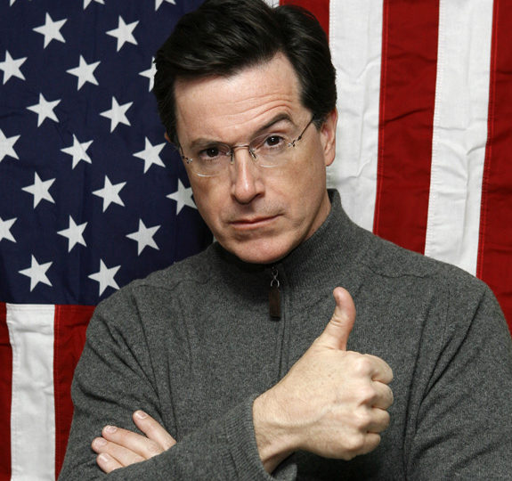 Stephen Colbert formed his Super PAC!