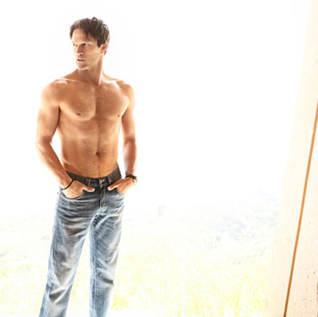 How 'True Blood' hottie Stephen Moyer gets motivated!