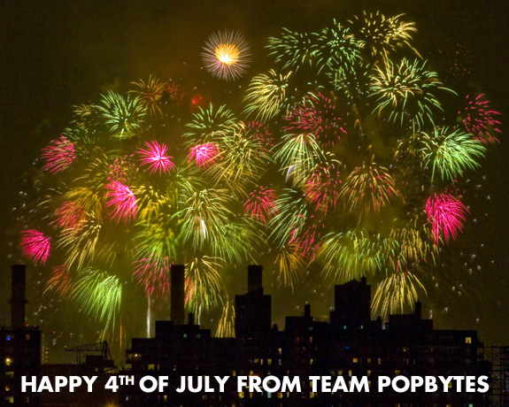 Happy 4th of July from Team PopBytes