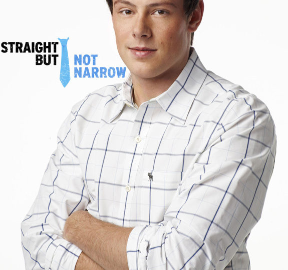 Cory Monteith is 'Straight But Not Narrow'!