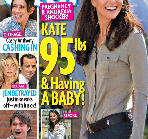 The Kate Middleton pregnancy rumors are back!