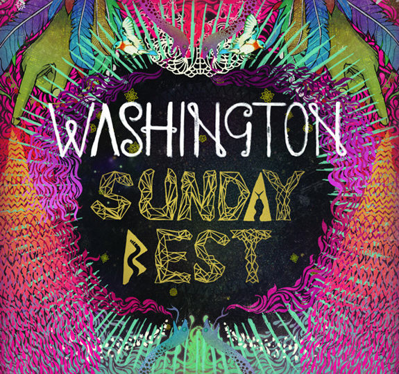 Washington greets us in her 'Sunday Best'