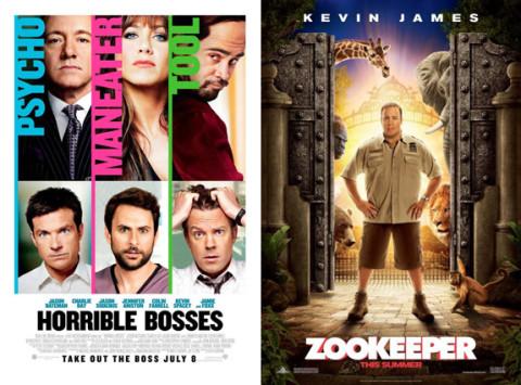 Horrible Bosses and Zookeeper