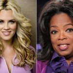 Jenny McCarthy and Oprah Winfrey