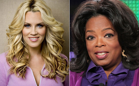 Jenny McCarthy ditched Oprah!