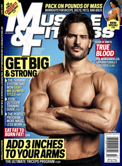 Joe Manganiello - Muscle & Fitness