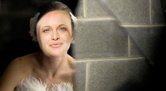 Lindsay should have been in 'Black Swan', according to herself!