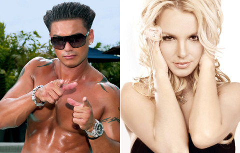 Pauly D and Britney Spears