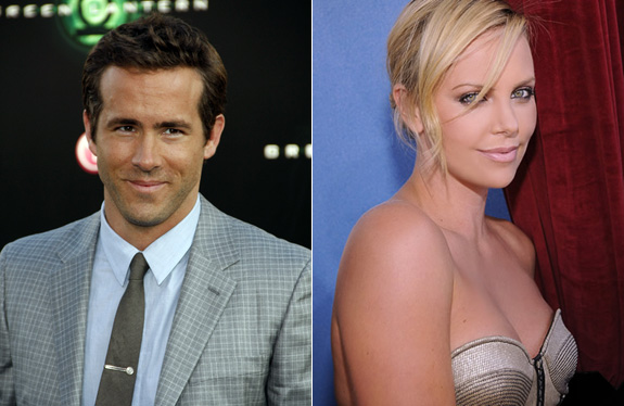 Ryan Reynolds and Charlize Theron are banging!