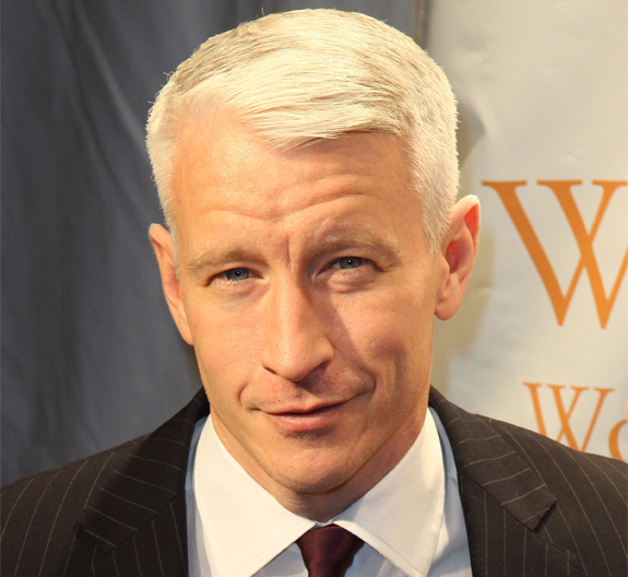Anderson Cooper got the giggles!