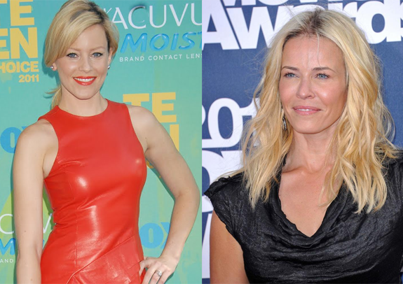Elizabeth Banks gets mistaken for Chelsea Handler!