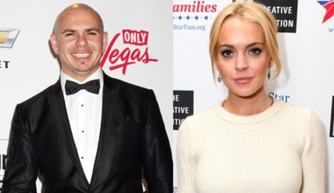 Pitbull is shocked Lindsay Lohan is suing him!