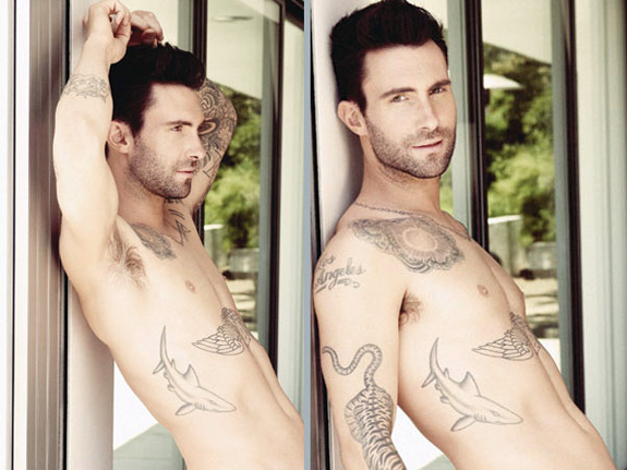 Adam Levine loves being naked!