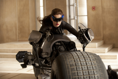 Anne Hathaway as Selina Kyle