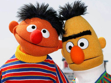 Bert and Ernie: Asexual best friends forever!