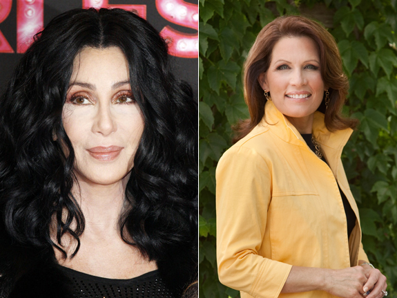 Cher and Michele Bachmann