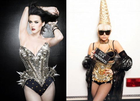 Katy Perry and Lady Gaga