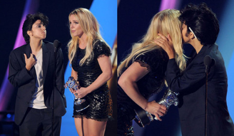 Jo Calderone (Lady Gaga) and Britney Spears