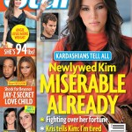 Newlywed Kim Kardashian: Miserable Already?!