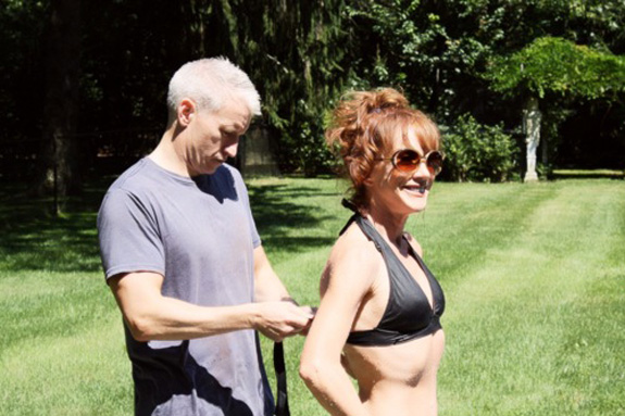 Anderson Cooper and Kathy Griffin grow closer …