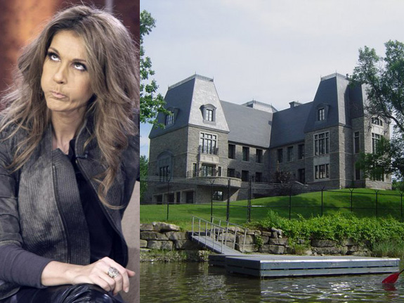 Someone broke into Celine Dion's house!