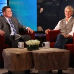 Chaz Bono and Ellen DeGeneres