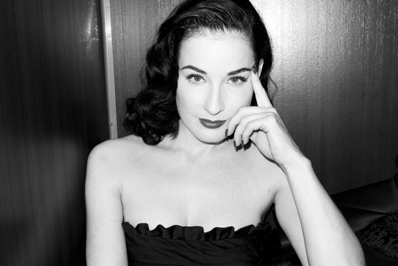 Flawless: Dita Von Teese by Terry Richardson
