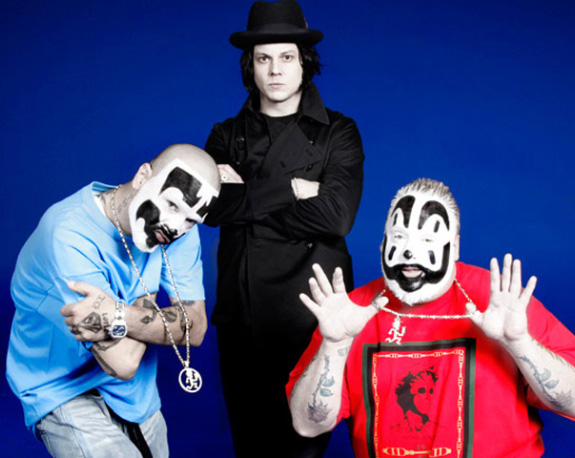 Jack White is teaming up with Insane Clown Posse