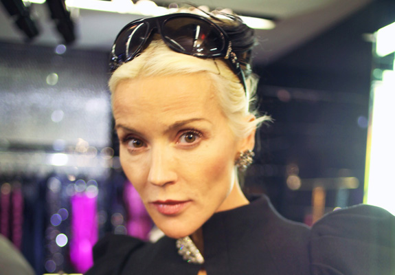 Daphne Guinness' exhibit at FIT