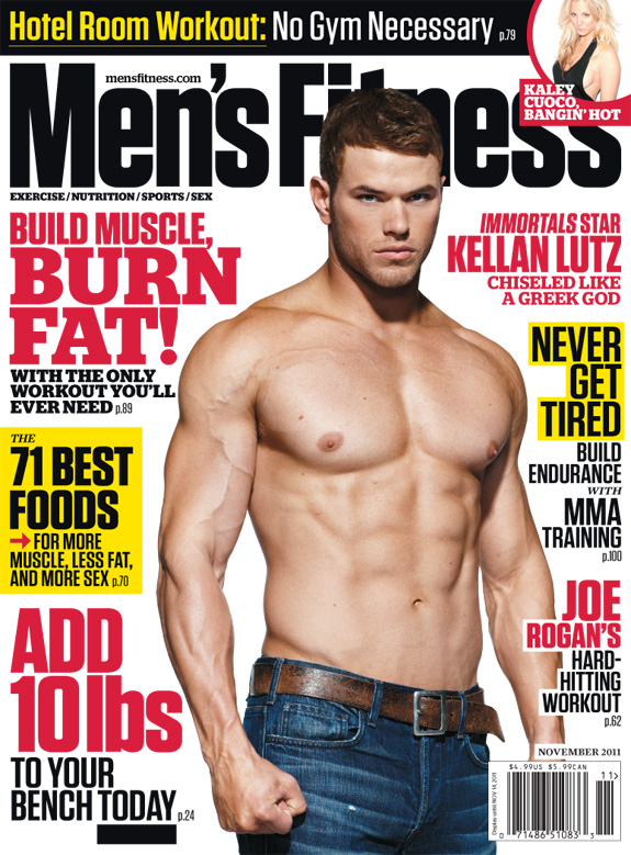 Kellan Lutz - Men's Fitness Magazine
