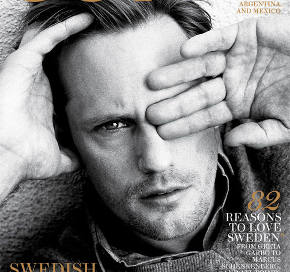 Alexander Skarsgard: OUT's Swedish invader!