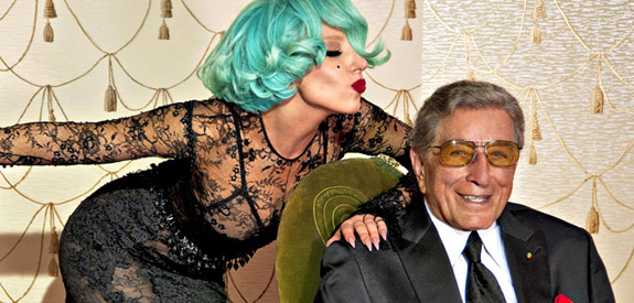 Tony Bennett and Gaga: The Lady Is A Tramp