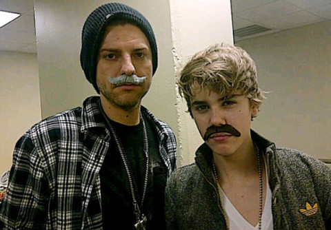 Justin Bieber and Ryan Good