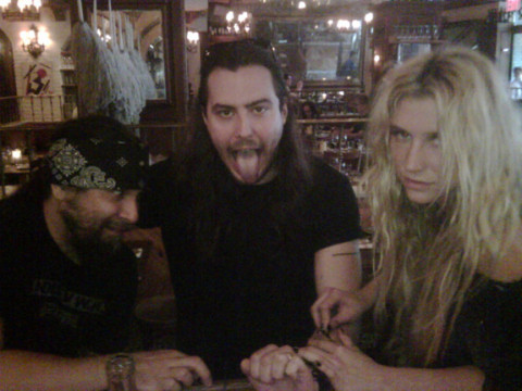 Ke$ha and Andrew W.K.
