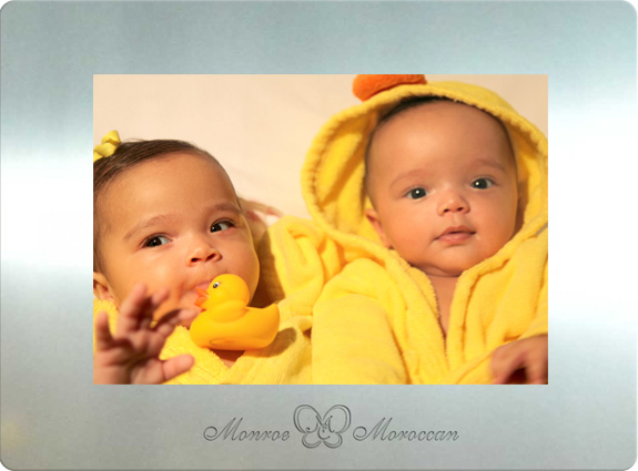 Meet Mariah's babies: Monroe and Moroccan!
